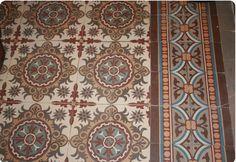 Carreaux de ciment anciens - antique tiles ccommeca.canalblog.com