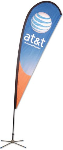 Its the summer and outdoor events are all the rage! Check out these flag stands!