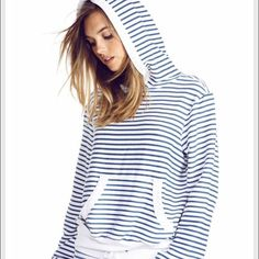 Wildfox Malibu Striped Hoodie Pullover sz med NWT pre pulled for maximum comfort. Fits oversized Wildfox Tops Sweatshirts & Hoodies