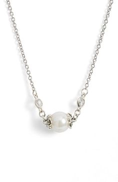 Judith+Jack+'Providence'+Faux+Pearl+Pendant+Necklace+available+at+#Nordstrom