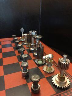 Steampunk Chess Set