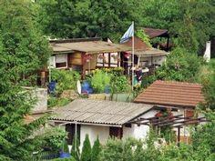 Schrebergarten oder Kleingarten