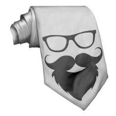 Full Grown Funny Beard Man Tie http://www.zazzle.com/ShabzDesigns?rf=238566710065069658