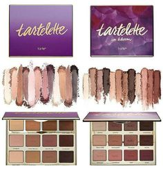 """tartlette"" and ""tartlette in bloom"" eyeshadow palettes... which one?? Both!!"