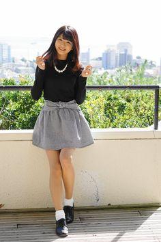 Pin on Cute Japanese Fashion, Japanese Girl, Asian Fashion, Girl Fashion, Le Jolie, Cute Asian Girls, Beautiful Asian Women, Yamamoto, Cosplay Girls