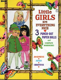 Paper Dolls~Little Girls Are Everthing Nice - Bonnie Jones - Picasa Web Albums