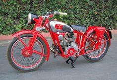 Early Bird: 1939 Moto Guzzi Egretta