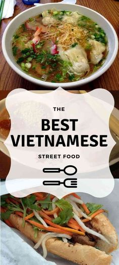 Vietnam is a foodie's paradise, but with so many dishes to choose from, what do you pick? These are the best Vietnamese Street Food dishes to try. Vietnamese Street Food, Asian Street Food, Vietnamese Recipes, Asian Recipes, Ethnic Recipes, Food C, Good Food, Mets, International Recipes