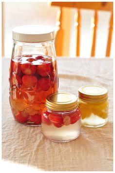 ワクワクしながら待つ楽しみも♪自家製「果実酒」と「漬け込み酒」の作り方