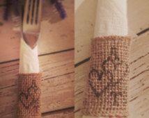 Personalised wedding napkin rings, personalised napkin ring, love, birthdays, anniversary,