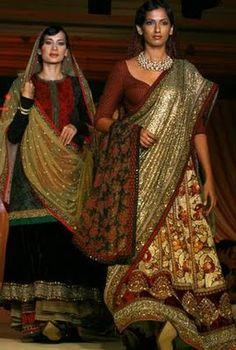 Sabyasachi Mukherjee. Absolutely gorgeous.