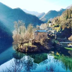 """""""A magical place in the heart of Garfagnana in the province of Lucca. If you've never been in the village of Isola Santa is the time to think about it…"""""""