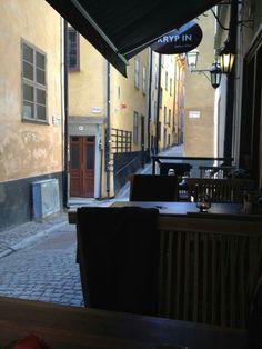 Restaurang Kryp In.  Prästgatan. Swedish restaurant