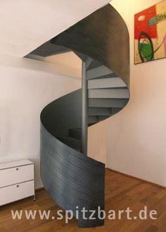 """""""Heavy Metal"""" spiral stair by Spitzbart.de"""