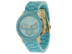 Turquoise Michael kors watch!