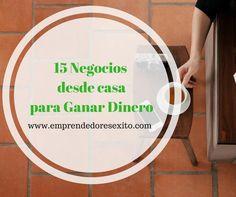15 Negocios que puedes montar desde casa sin presupuesto o casi