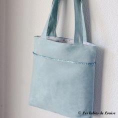 DIY sac facile cabas sac à main - Les tutoriels de louise-6
