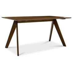 Fino Dining Table | Furniture & Home Décor | FortyTwo Walnut Veneer, Drink Coasters, Mild Soap, Sofa Set, Table Furniture, Bed Frame, A Table, Dining Bench, Solid Wood