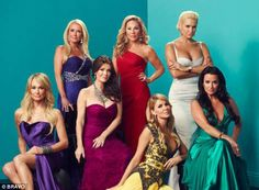 Dueling divas: The fourth season of The Real Housewives of Beverly Hills currently airs Mo...