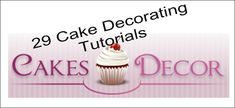 It's Written on the Wall: Tips and Tricks-29 Cake Decorating Tutorials, Smoothies to go, Teacher Appreciation, DIY Camera Bag and More!