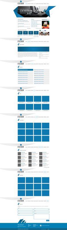 Layout para one page da Esccalar - Cliente da Group My