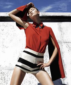 Anastasia Kolganova Gets High for Harpers Bazaar Latin America June 2013 | Fashion Gone Rogue: The Latest in Editorials and Campaigns