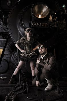 Steampunk its more than an aesthetic style, it's the longing for the past that never was. In Steampunk Girls we display professional pictures, and illustrations of Steampunk, Dieselpunk and other anachronistic 'punks. Some cosplay too! Moda Steampunk, Steampunk Couture, What Is Steampunk, Style Steampunk, Steampunk Clothing, Steampunk Fashion, Steampunk Outfits, Steampunk Images, Steampunk Dress