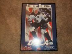 Jeremy Roenick in U.S.A Jersey framed print
