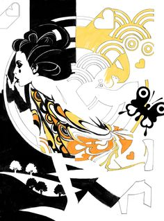 Geisha Lo. By Jassper Goodall
