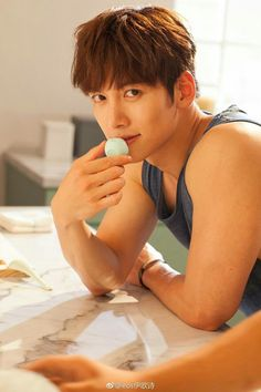 Ji Chang Wook Smile, Ji Chan Wook, Lee Dong Wook, Hot Korean Guys, Korean Men, Healer Drama, Ji Chang Wook Photoshoot, Charming Eyes, Suspicious Partner