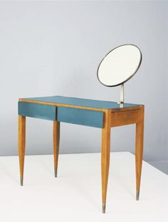 Gio Ponti, Vanity, Hotel Parco dei Principi, Rome, 1964. Manufactured by Cassina, Italy.