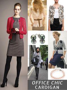 office fashion style cardigan