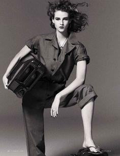 Ramune Barcyte   Sporty Glam Fashion Editorial   Vanity Fair Italy