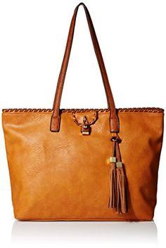 a0d8ca602a02 Bags · MG Collection Katja Tassel Shopper Shoulder Bag Vegan Fashion
