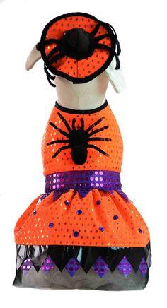 Disfraz para perros, Ropa para mascota Modelo Brujita para este halloween