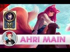 VERTIGAL AHRI MAIN Compilation | 2.3 MILLION MASTERY POINTS - league of legends - YouTube