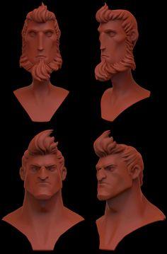 ArtStation - sum head, Pablo Gonzalez