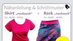 "Nähanleitung Shirt und Rock ""ruckzuck"" bei Makerist"