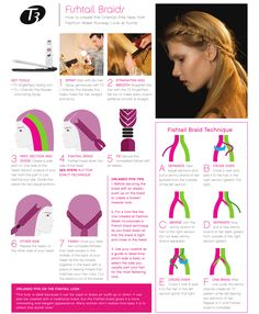 How-to Fishtail Braid- My go to style when I'm having a bad hair day or just want to wear my hair up. It's a super cute twist on a braid, and easy to do. Click to enlarge.