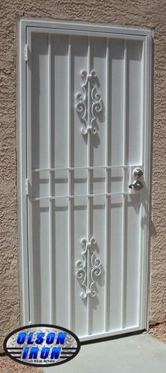 242 Best Wrought Iron Security Doors Images Wrought Iron
