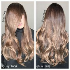 Dimensional Blonde Balayage by Guy Tang