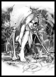 Viking Goddesses   ... depicts Hel – the half maiden-half corpse goddess of the underworld