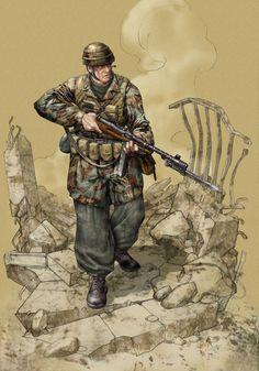 R.S.I. Paracadutista battaglione Nembo