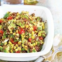 Red Quinoa-Avocado Salad