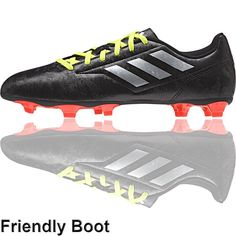 the latest 4277b ebe69 adidas Conquisto II Football Boots (FG - Black Red Silver). Nation  LtdFootball ...
