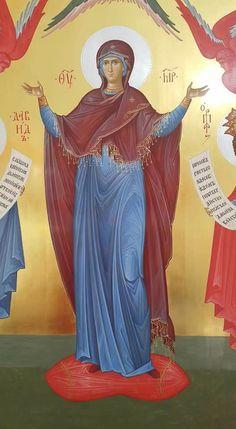 Madonna, Byzantine Icons, Orthodox Christianity, Orthodox Icons, Virgin Mary, Christian Faith, Aurora Sleeping Beauty, Painting, Inspiration