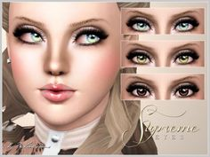 Supreme Eyes by Pralinesims at The Sims Resource - Sims 3 Finds