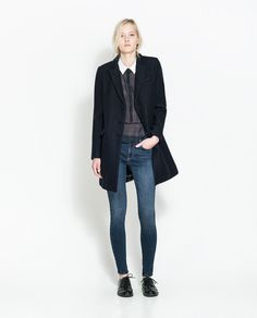 Image 1 of SATIN JEANS from Zara