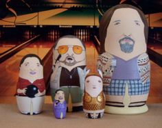 The Big Lebowski Matryoshka Dolls - Nice!