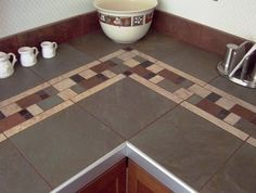 Find This Pin And More On Countertops I Like Kitchen Tile Countertop Ideas